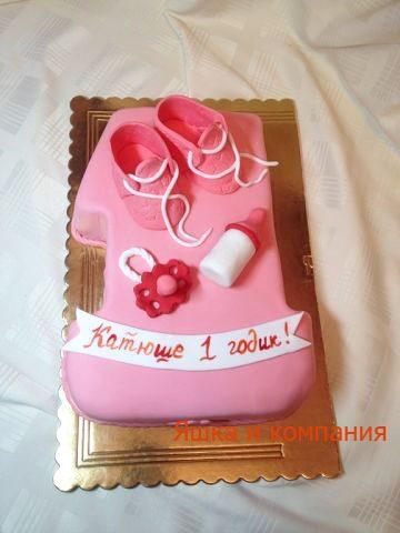 Заказать любой детский торт ручной